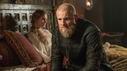 Alexander Ludwig as Björn Ironside in Michael Hirst's Vikings.