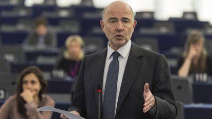 European Economy Commissioner Pierre Moscovici.
