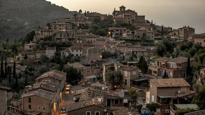 The Spanish village of Deià.