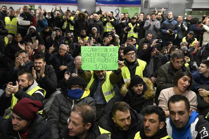 Madrid taxi drivers are asking the regional government for similar legislation to Catalonia's.