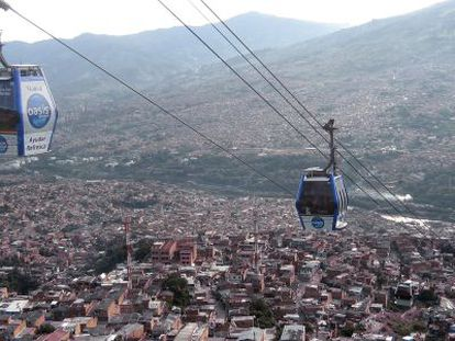 A file photo of Medellín.