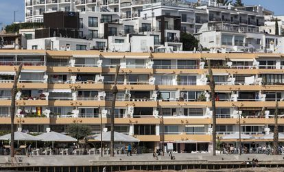 Property prices in Ibiza have jumped 56.5%.