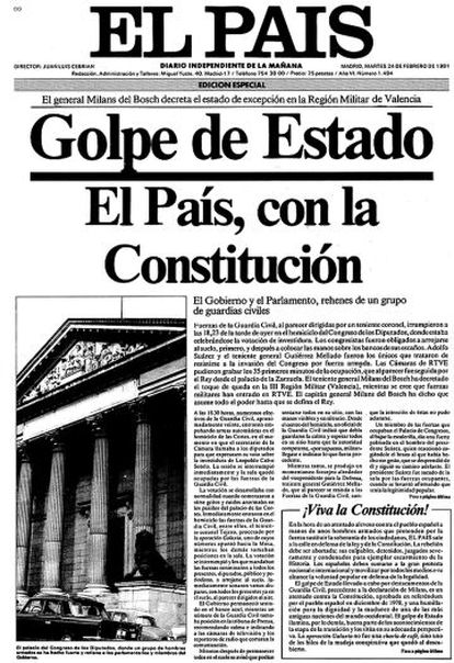 The front page of the special edition.