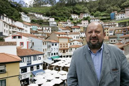 The former mayor of Cudillero, Francisco González.