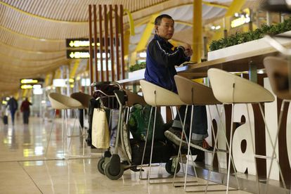 The ghost traveler known as 'El Japonés' has been living in the airport for the past eight years.