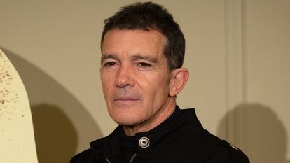 Antonio Banderas in a file photo from February.