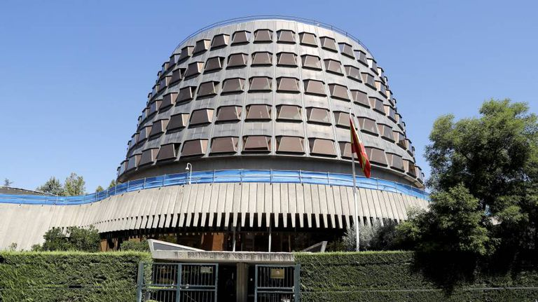 The seat of the Constitutional Court in Madrid.