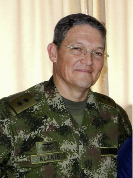 General Rubén Darío Alzate was abducted in the Colombian jungle on Sunday.