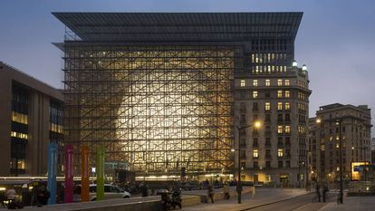 European Council building in Brussels.