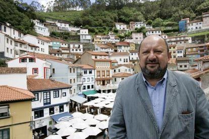 The former mayor of Cudillero, Francisco González.