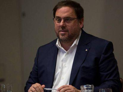 The Catalan deputy premier, Oriol Junqueras.
