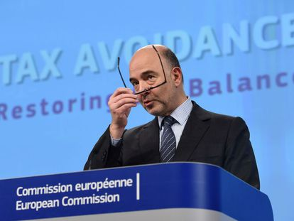 The EU's economics commissioner, Pierre Moscovici, is in charge of announcing the forecasts.