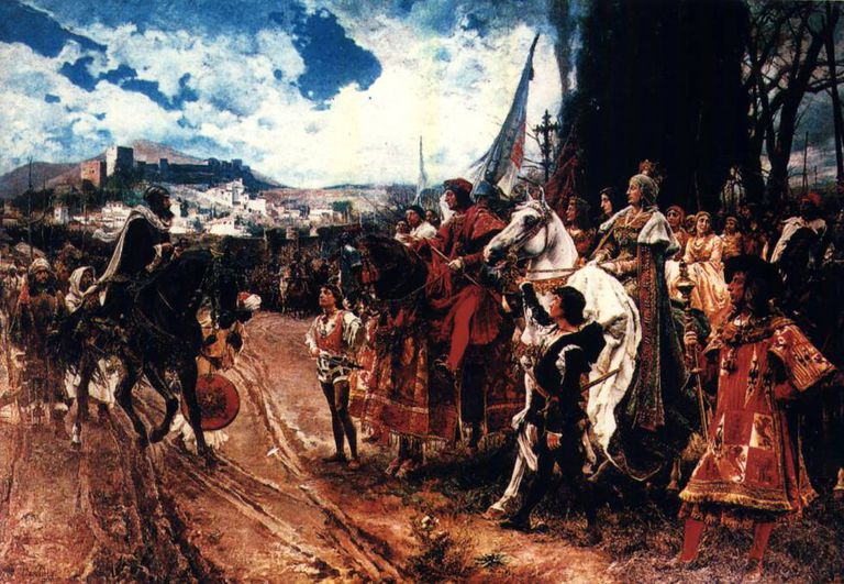'The Surrender of Granada,' by Francisco Pradilla.
