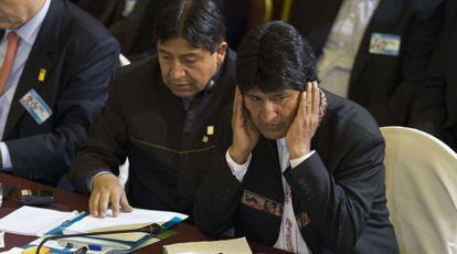 Bolivian President Evo Morales, who was at the center of a diplomatic incident earlier this month.