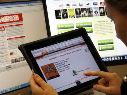 The US is calling on Spain to do more to combat download sites.