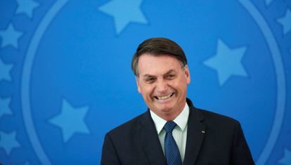 Brazil's president, Jair Bolsonaro.
