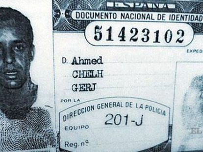 Ahmed's Spanish ID card issued in 1991.