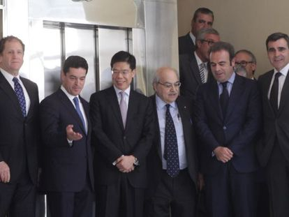 The presentation of the BCN World project in Tarragona earlier this year.