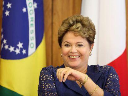President Dilma Rousseff, seen on December 12.