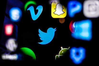 Social media company logos.