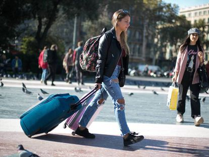 International tourist numbers soared in 2017.