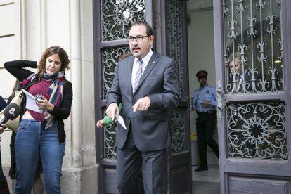 Catalan interior chief Ramon Espadaler.