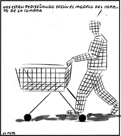 """""""We are being redesigned based on the model of the shopping cart."""""""