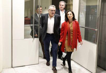 PSOE parliamentary spokesperson Margarita Robles.