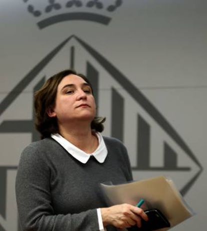 Barcelona Mayor Ada Colau has pledged to find a balance between tourism growth and sustainable living in the city.