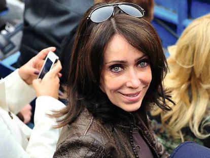 Businesswoman María Asunción Aramburuzabala.