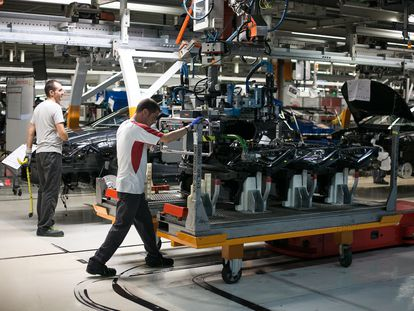 The Seat auto factory in Martorell, Catalonia in September 2019.