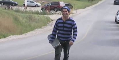 Ignacio Echeverría in a video screenshot.
