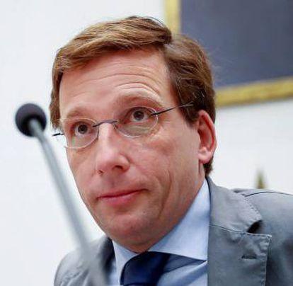 New Madrid Mayor José Luis Martínez-Almeida.