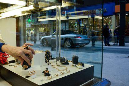 A jewelry store in Andorra la Vella.