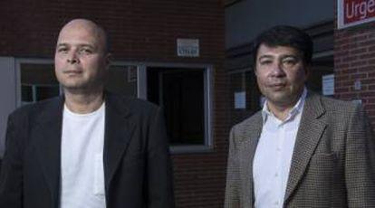 Venezuelan doctors Henry Alexis Taylor Salinas and Jose Rafael Noguera.