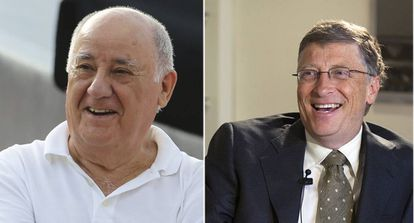 Amancio Ortega and Bill Gates