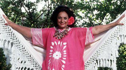 Lola Flores in 1994.