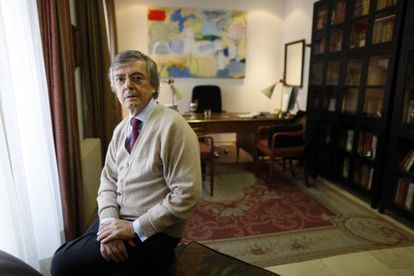 Jorge Trías Sagnier in his Madrid office.