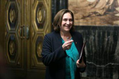 Barcelona Mayor Ada Colau.
