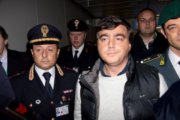 Lavitola: busted in Rome.
