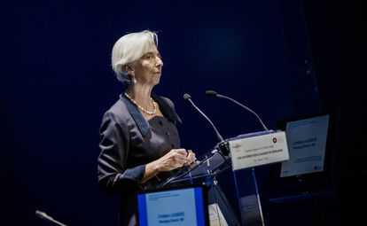 Christine Lagarde, managing director of the International Monetary Fund.