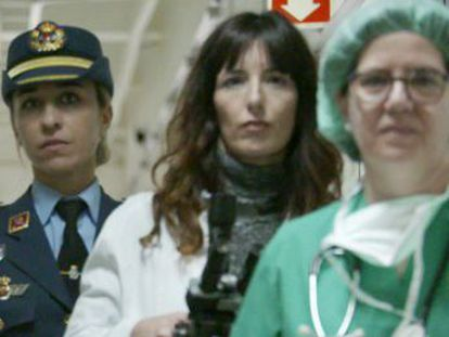 Female professionals are visiting schools in Spain to inspire young girls to pursue careers in science and technology