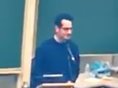 Pedro Correa's talk on the importance of listening to your inner voice at a university in Belgium has been seen more than five million times on Facebook