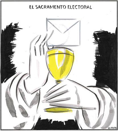 """""""The electoral sacrament."""""""