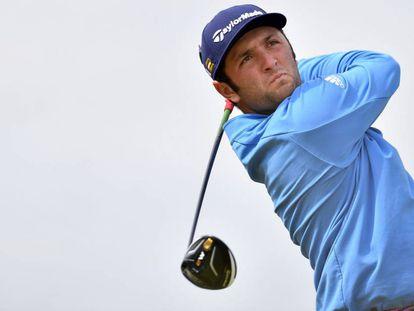 Jon Rahm at the Scottish Open last week.