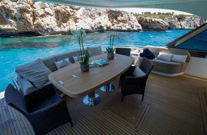 Rafael Nadal's luxury yacht.