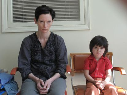 Tilda Swinton stars as a mother struggling with her monstrous son in Lynne Ramsay's 'We Need to Talk About Kevin.'