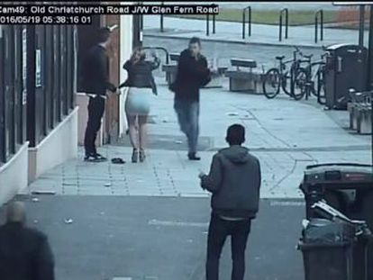 First incident, dating from May, involved a man hit with a plank while speaking Spanish in the street