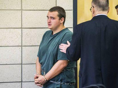 Colin Daniel Richards, the suspect in the murder of Celia Barquín.