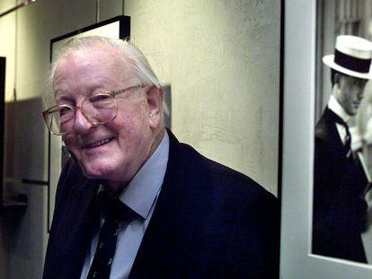 British author Tom Sharpe in 2004.